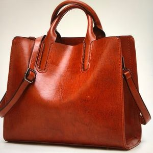 Handbags - Brown Leather Handbag